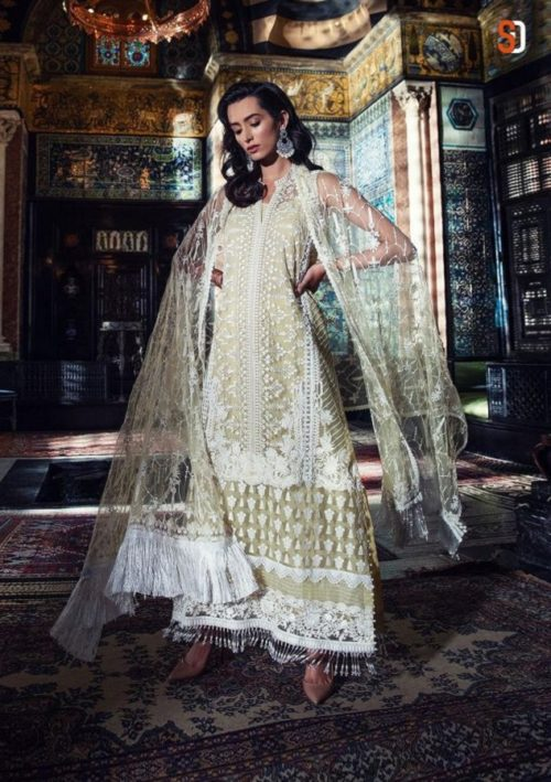 Buy Shraddha Designer Sobia Nazir vol 2 Heavy Butterfly Net With Heavy Embroidery Salwar Suit 2006