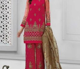 Deepsy Suits Presents Gulbano 14 Georgette with Heavy Embroidery And Handwork Salwar Kameez 154
