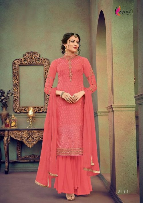 Kesari Trendz Presents Zaina 4 Magical Barasso With Embroidery Salwar Suit 3131