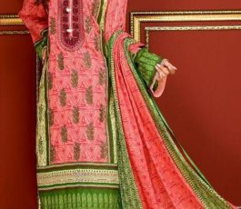 Mysoori Presents Khaddi Embroidered Lawn 5 Pure Pakistani Cotton Lawn With Embroidery Suit 03A