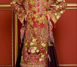 Mysoori Presents Khaddi Embroidered Lawn 5 Pure Pakistani Cotton Lawn With Embroidery Suit 04A
