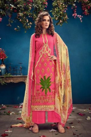 Radhika Fashion Presents Azara Vol 34 Pure Cambric Karachi Prints Salwar Suits 34006