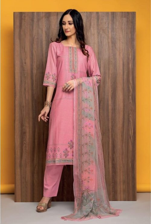 Rivaa Presents Susy Pure Masleen Printed Unstitched Salwar Suit 1675