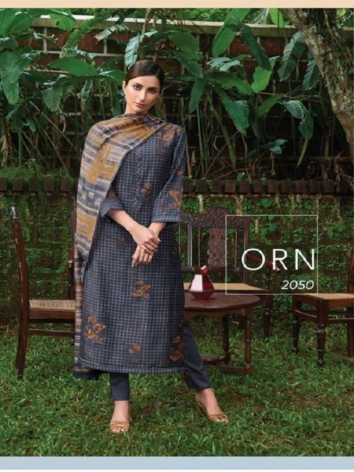 Sahiba Presents Ornate Cotton Silk Digital Print With Handwork Salwar Suits ORN 2050