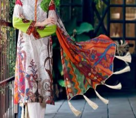 Shree Fabs Presents Charisma Aniq Collection Pure Cotton Print With Embroidery Salwar Suit 3112