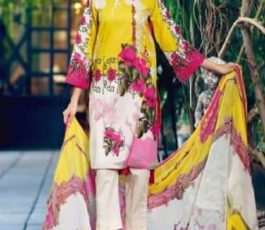 Shree Fabs Presents Charisma Aniq Collection Pure Cotton Print With Embroidery Salwar Suit 3114