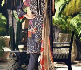 Shree Fabs Presents Charisma Aniq Collection Pure Cotton Print With Embroidery Salwar Suit 3118