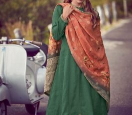 Varsha Fashions Presents The Carnival Collection Tussar Silk Weave With Embroidery Salwar Suit TC-23