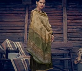 Varsha Fashions Presents Tree Of Life 2 Tussar Silk With Detailed Cording Embroidery Salwar Suit TL-102