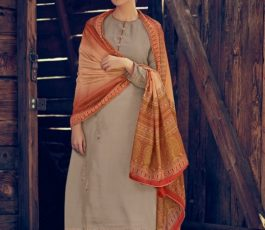 Varsha Fashions Presents Tree Of Life 2 Tussar Silk With Detailed Cording Embroidery Salwar Suit TL-104