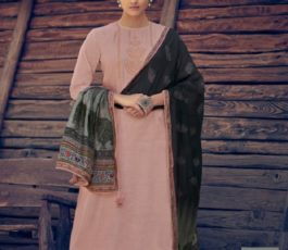 Varsha Fashions Presents Tree Of Life 2 Tussar Silk With Detailed Cording Embroidery Salwar Suit TL-103