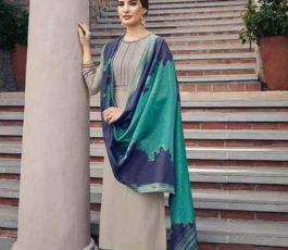 Vidhushi Suits Presents Handweave Pure Viscose Muslin Silk With Embroidery Salwar Suit 1003