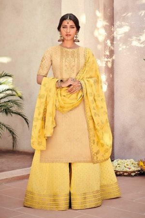 Buy Kimora Vol 10 Pure Silk Banarasi Buti With Embroidery Salwar Suit K-1007