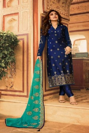Fiona Kritika Jacquard With Work Partywear Designer Suits 22431