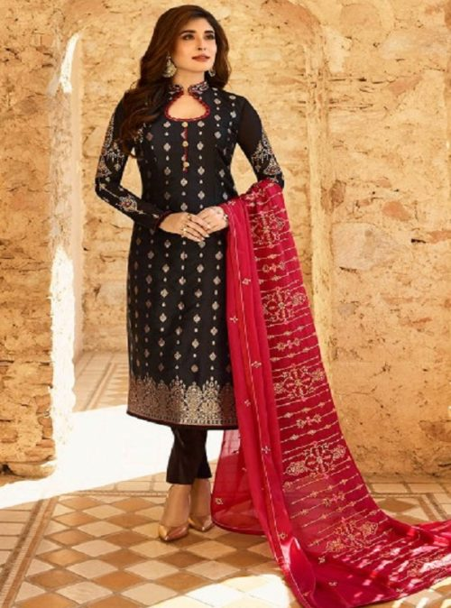 Fiona Kritika Jacquard With Work Partywear Designer Suits 22434