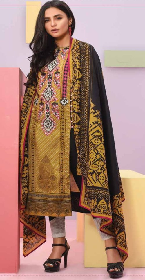 LSM Summer Breeze Pure Lawn Embroidered Pakistani Original Salwar Suits SEC-305 B