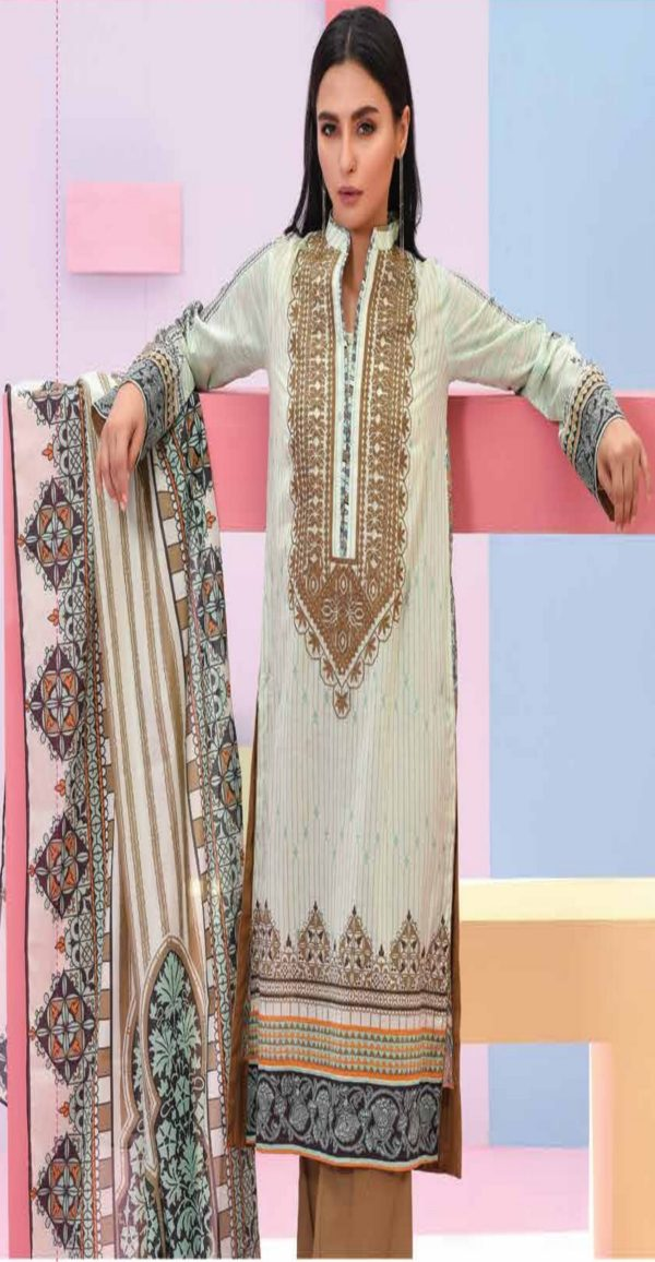 LSM Summer Breeze Pure Lawn Embroidered Pakistani Original Salwar Suits SEC-307 A
