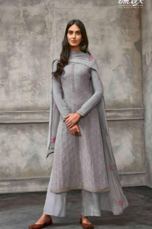 Omtex Presents Breeze Georgette With Embroidery Unstitched Salwar Suit 823