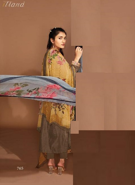 Sahiba Itrana Presents Freesia Viscose Silk Digital Print With Embroidery Salwar Suits 765