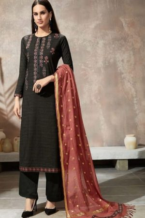 Sahiba Itrana Presents Iternal Path Pure Chex With Embroidery Salwar Suit 866