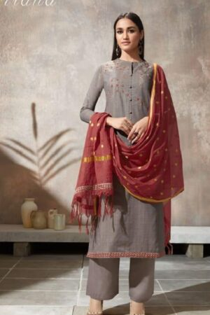 Sahiba Itrana Presents Iternal Path Pure Chex With Embroidery Salwar Suits 870
