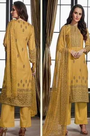 Sahiba Sudriti Lakeer Dobby Satin Digital Print With Handwork Salwar Suits 795
