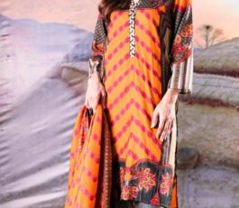 Sahil Printed Cotton Collection 2019 With Printed Lawn Dupatta and Dyed Trouser Original Pakistani Suit 05