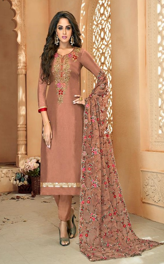 Shree Fabs Gujarish Vol 5 Pure Viscose Upada With Embroidery Salwar Suit 1027
