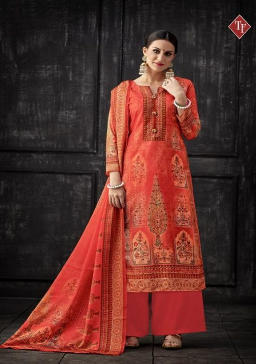 Tanishk Fashion Presents Karwa Upada Silk Digital Print With Hand and Diamond Work Salwar Suit 6503