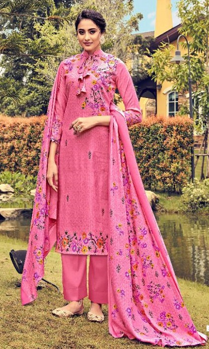 Belliza Designer Studio Presents Ruhani 2 Pure Pashmina Digital Printed Salwar Suit 326-003