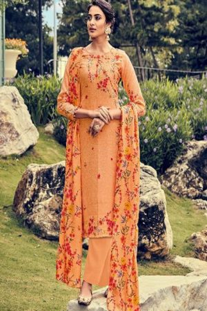 Belliza Designer Studio Presents Ruhani 2 Pure Pashmina Digital Printed Salwar Suit 326-006