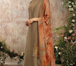Buy Sava Aadhira Dyed Raw Silk With Bottom and Dupatta Unstitched Designer Ladies Suits 1192
