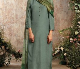 Buy Sava Aadhira Dyed Raw Silk With Bottom and Dupatta Unstitched Designer Ladies Suits 1193