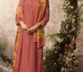 Buy Sava Aadhira Dyed Raw Silk With Bottom and Dupatta Unstitched Designer Ladies Suits 1195