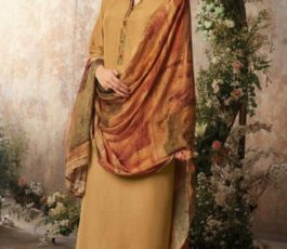 Buy Sava Aadhira Dyed Raw Silk With Bottom and Dupatta Unstitched Designer Ladies Suits 1196