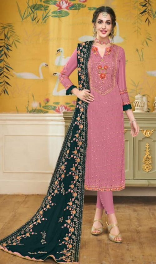Eba Lifestyle Hurma 19 Pure Viscose Opada With Heavy Embroidery Salwar Suit 1103
