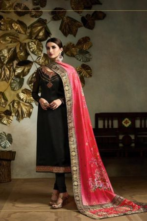 Fiona Presents Kavya Digital Dupatta Satin Georgette With Embroidery Salwar suit 22562
