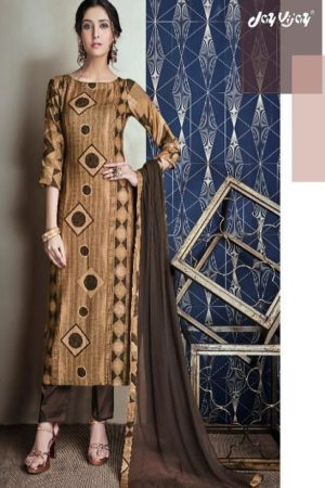 JayVijay Presents Tarang Pashmina Digital Print With Hnadwork Salwar Suit 4888