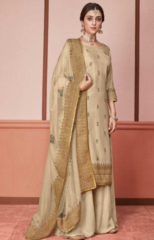 Kimora Presents Amber Dola Silk With Embroidery Designer Party Wear Suit 1301