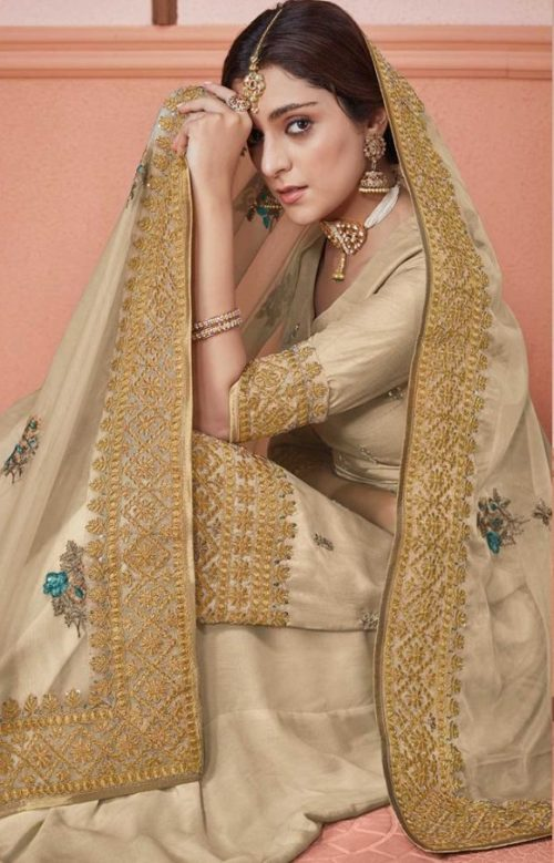 Kimora Presents Amber Dola Silk With Embroidery Designer Party Wear Suits 1301
