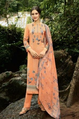 Sahiba Sudriti Masakali Pashmina Digital Printed With Handwork Unstitched Winter Salwar Suit 339