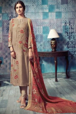 Sahiba T&M Presents Bloom Winter Collection Pashmina Printed Ladies Salwar Suit 922