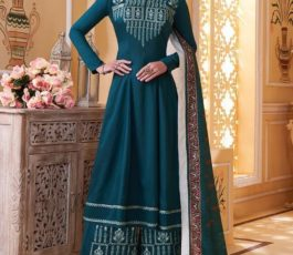 Sajawat Creation Presents Sarthi Vol 09 Readymade Maslin Embroidered Suits Collection With Palazzo and Dupatta 761