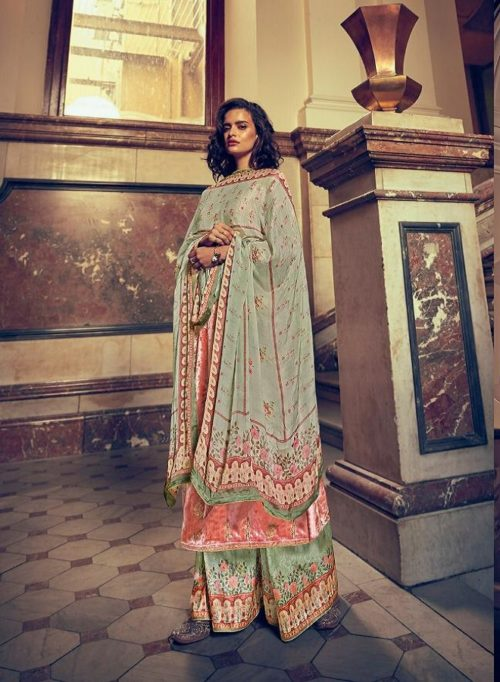 Varsha Presents The Signature Collection Pure Velevt With Cording Work Salwar Suit SC-21