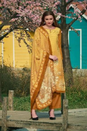 Deepsy Presents Gulnaz Pure Pashmina Print Suits 1004