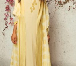 Ganga Presents The Summer Of Love Pure Muslin Silk Solid With Embroidery and Work Salwar Suit 7539