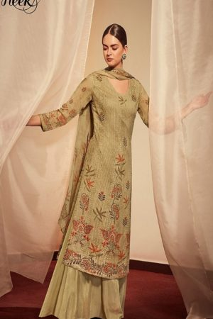 Kimora Heer Kantha vol 58 Muslin Silk With Embroidery Ladies Salwar Suit 9873