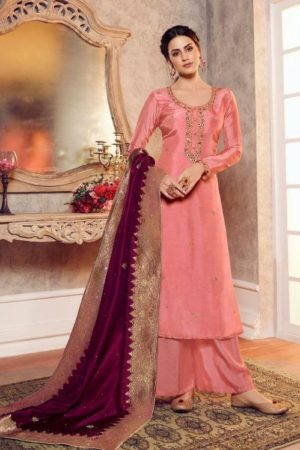 Lt Fabrics Presents Vol 147 Pure Viscose Upada With Handwork Designer Partywear Salwar Suit 4701