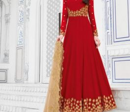 Raazi Presents Almas New Georgette Embroidery with Hand work Designer Partywear Gown 20042