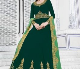 Raazi Presents Almas New Georgette Embroidery with Hand work Designer Partywear Gown 20043